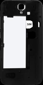 Huawei Y5 - SIM-Karte - Einlegen - 1 / 1