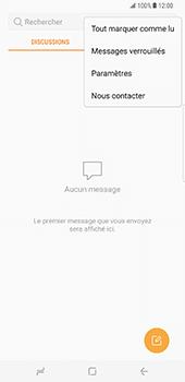 Samsung Galaxy S8 Plus - SMS - Configuration manuelle - Étape 5