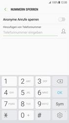 Samsung Galaxy S7 - Android Nougat - Anrufe - Anrufe blockieren - Schritt 7