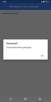Sony Xperia XZ3 - Voicemail - handmatig instellen - Stap 12
