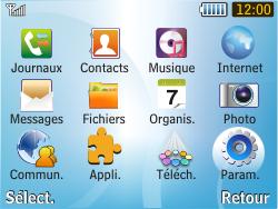 Samsung S3350 Chat 335 - Internet - Configuration manuelle - Étape 3