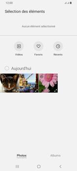 Samsung Galaxy A42 5G - Contact, Appels, SMS/MMS - Envoyer un MMS - Étape 17