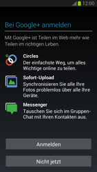 Samsung I9300 Galaxy S3 - Apps - Konto anlegen und einrichten - Schritt 12