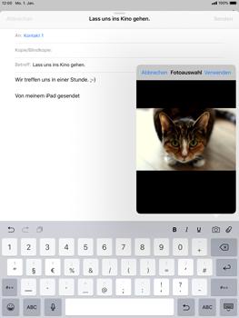 Apple iPad Pro 9.7 inch - iOS 12 - E-Mail - E-Mail versenden - Schritt 11