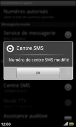 Acer Liquid S100 - SMS - configuration manuelle - Étape 8