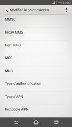 Sony Xperia Z3 Compact - MMS - Configuration manuelle - Étape 14