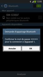 Samsung G386F Galaxy Core LTE - Bluetooth - jumelage d