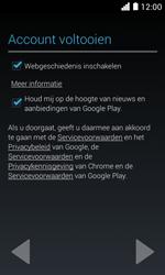 Huawei Ascend Y330 - Applicaties - Account aanmaken - Stap 17
