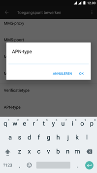 OnePlus 3 - Android Oreo - Internet - Handmatig instellen - Stap 13