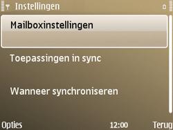 Nokia E72 - E-mail - Handmatig instellen - Stap 19