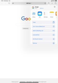 Apple iPad Pro 11 (2018) - iPadOS 13 - Internet und Datenroaming - Verwenden des Internets - Schritt 6