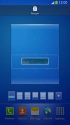 Samsung Galaxy S 4 Active - Operazioni iniziali - Installazione di widget e applicazioni nella schermata iniziale - Fase 8
