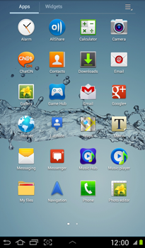 Samsung P3100 Galaxy Tab 2 7-0 - Internet - Internet browsing - Step 2