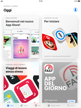 Apple iPad mini 2 iOS 11 - Applicazioni - installazione delle applicazioni - Fase 4