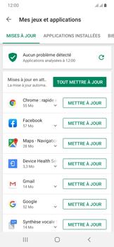 Samsung Galaxy A20e - Applications - comment vérifier si des mises à jour sont disponibles pour l'appli - Étape 6