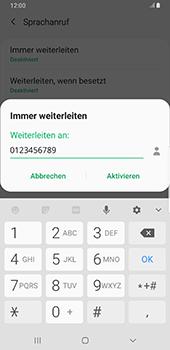 Samsung Galaxy S9 Plus - Anrufe - Rufumleitungen setzen und löschen - 11 / 13