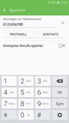 Samsung G920F Galaxy S6 - Android M - Anrufe - Anrufe blockieren - Schritt 10