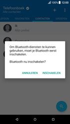 HTC One M9 - Android Nougat - Contactgegevens overzetten - delen via Bluetooth - Stap 9