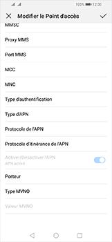 Huawei Y6 (2019) - MMS - Configuration manuelle - Étape 14