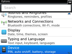 BlackBerry 9320 Curve - Settings - Configuration message received - Step 4
