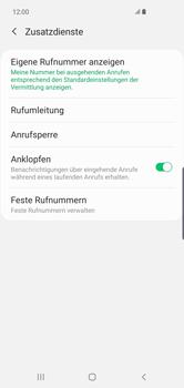 Samsung Galaxy S10 Plus - Anrufe - Rufumleitungen setzen und löschen - 9 / 15