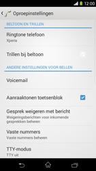 Sony Xperia M2 - voicemail - handmatig instellen - stap 5