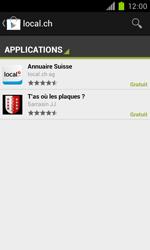Samsung Galaxy S II - Applications - Installation d