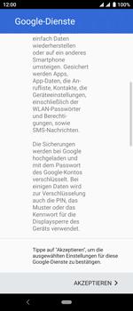 Sony Xperia 10 - Apps - Konto anlegen und einrichten - Schritt 20