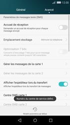 Huawei P8 Lite - SMS - Configuration manuelle - Étape 8