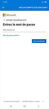 Samsung Galaxy A41 - E-mails - Ajouter ou modifier votre compte Outlook - Étape 9