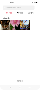 Oppo Reno 4Z - Photos, vidéos, musique - Envoyer une photo via Bluetooth - Étape 7