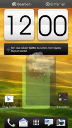 HTC One S - Startanleitung - Installieren von Widgets und Apps auf der Startseite - Schritt 8