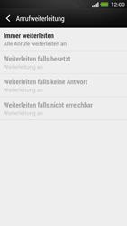 HTC One - Anrufe - Rufumleitungen setzen und löschen - 8 / 9