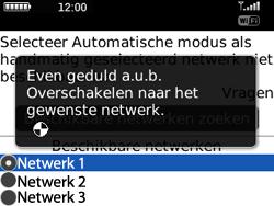 BlackBerry 8520 Curve - netwerk en bereik - gebruik in binnen- en buitenland - stap 8