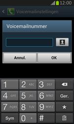 Samsung S7710 Galaxy Xcover 2 - Voicemail - Handmatig instellen - Stap 8