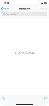 Apple iPhone X - iOS 12 - E-mail - Envoi d