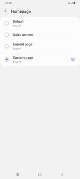 Samsung Galaxy A70 - Internet - Manual configuration - Step 30