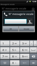 Sony Xperia Arc S - Messagerie vocale - Configuration manuelle - Étape 7