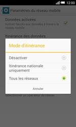 Alcatel OT-5050X Pop S3 - Aller plus loin - Désactiver les données à l'étranger - Étape 7