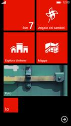 HTC Windows Phone 8X - Operazioni iniziali - Personalizzazione della schermata iniziale - Fase 8