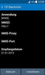Samsung Galaxy Core Prime - MMS - Automatische Konfiguration - 0 / 0