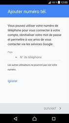 Sony Xperia XZ (F8331) - Applications - Créer un compte - Étape 14