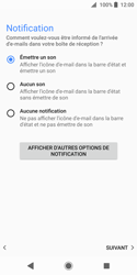 Sony Xperia XZ2 Compact - E-mail - Configuration manuelle (outlook) - Étape 15