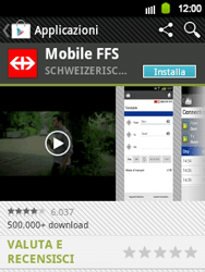Samsung Galaxy Y - Applicazioni - Installazione delle applicazioni - Fase 21