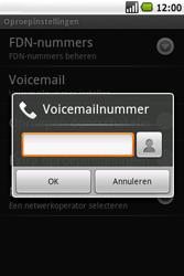 Samsung I7500 Galaxy - Voicemail - handmatig instellen - Stap 6