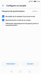 Huawei P9 - Android Nougat - E-mail - Configuration manuelle (yahoo) - Étape 9