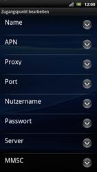 Sony Ericsson Xperia Arc S - Internet - Manuelle Konfiguration - Schritt 11