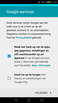 Huawei Mate S - Applicaties - Account aanmaken - Stap 15