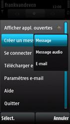Nokia X6-00 - E-mail - envoyer un e-mail - Étape 5