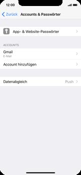 Apple iPhone X - Datenschutz und Sicherheit - Kontakte, E-Mail und Fotos mit Gmail synchronisieren - 2 / 2